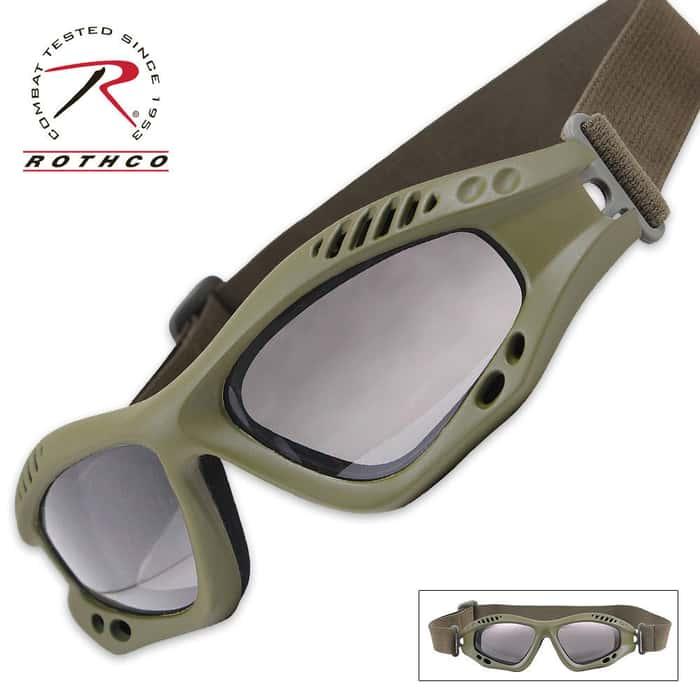 Rothco Ventec Tactical Goggles OD