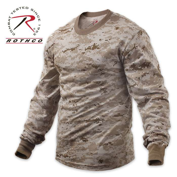 Desert Digital Long Sleeve T-Shirt