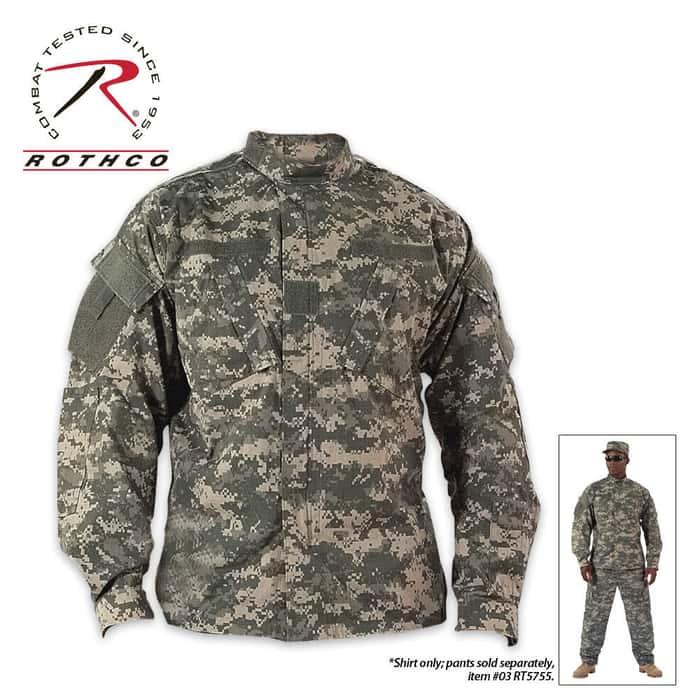 Rothco ACU Combat Uniform Shirt