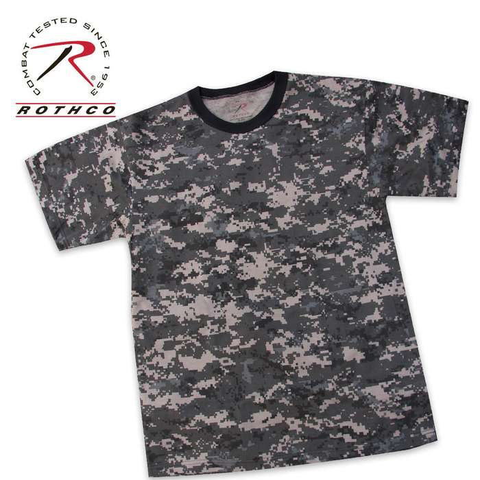 Rothco Urban Camo T Shirt