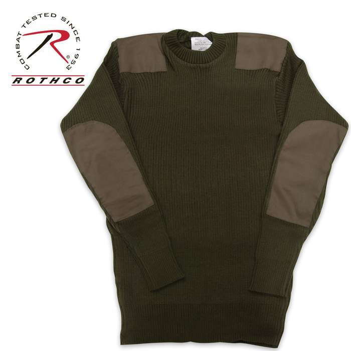 GI Style Commando Sweater