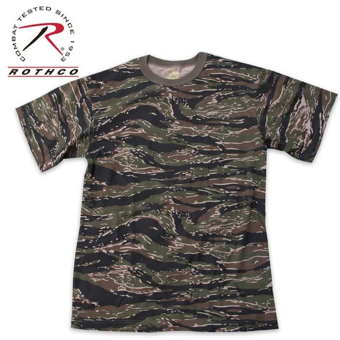 Rothco Tiger Stripe Camo T Shirt