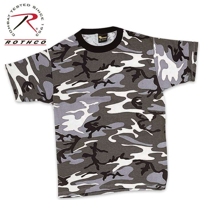 City Camo Short Sleeve T-Shirt