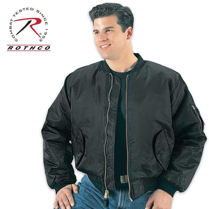 MA1 Flight Jacket Black
