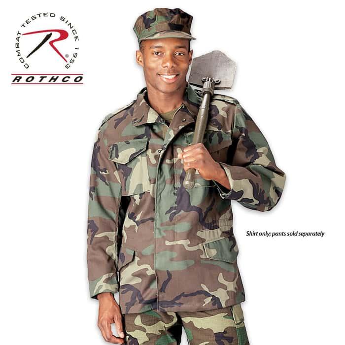 M65 Field Jacket Woodland