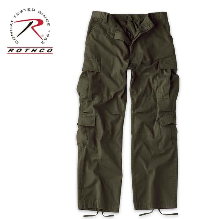 Rothco Vintage Paratrooper Fatigue Pants OD