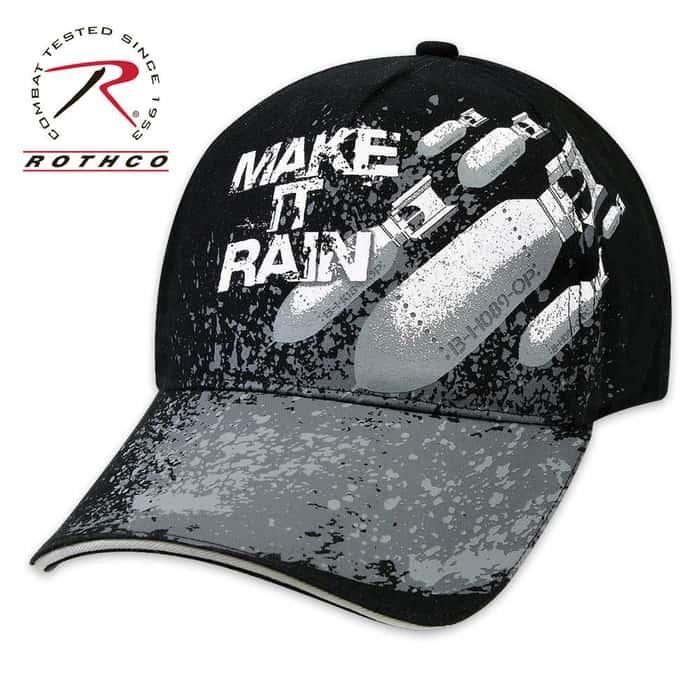 Make It Rain Deluxe Low Profile Insignia Cap