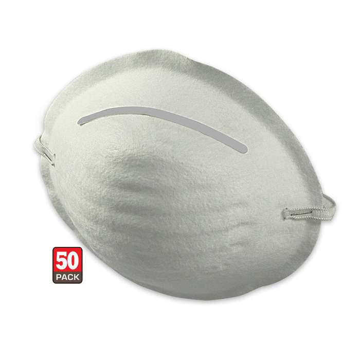 Disposable Dust Mask 50 Pack