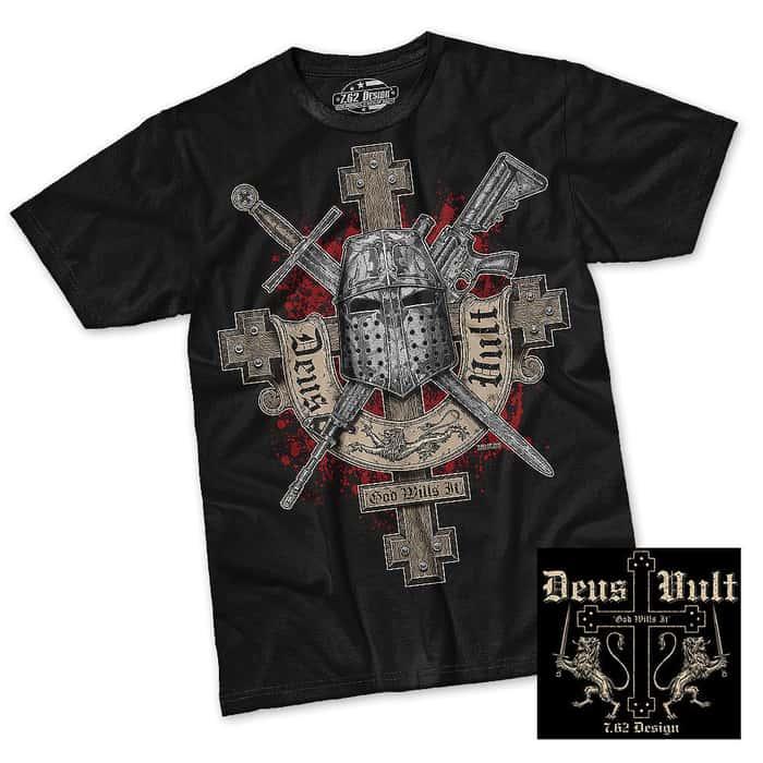 Deus Vult Short Sleeve Shirt