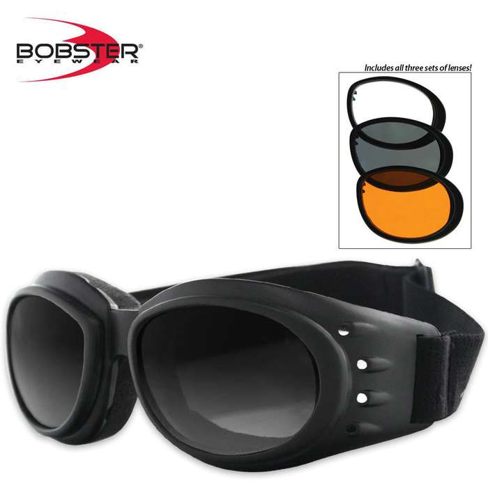 Bobster Cruiser 2 Interchangeable Goggles