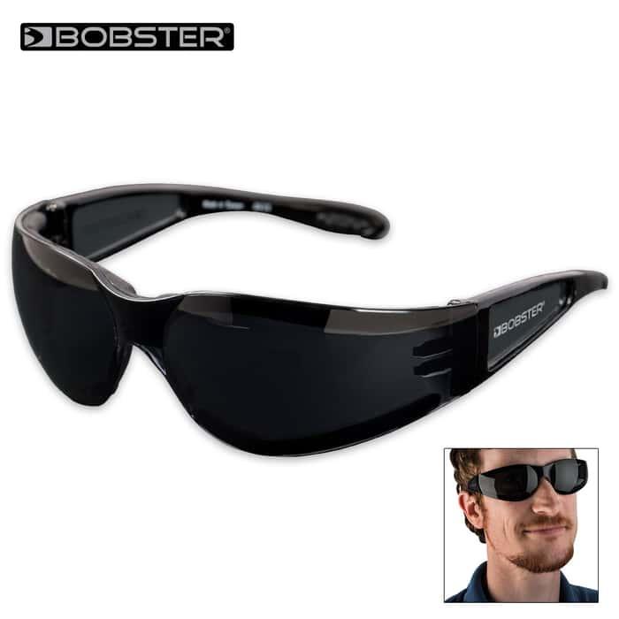 Bobster Shield II Sunglasses Smoke/Black