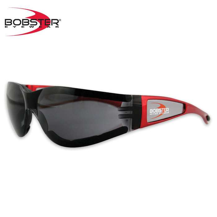 Bobster Shield II Sunglasses - Smoke/Red