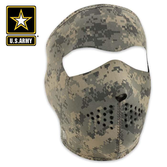 ZANheadgear Digital ACU Camouflage Neoprene Facemask