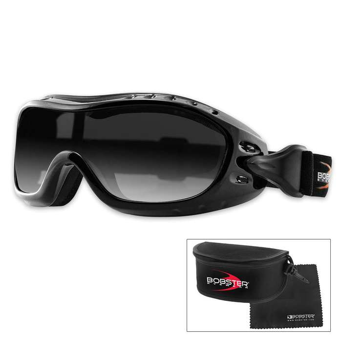 Bobster Nighthawk Goggles Smoked Lens