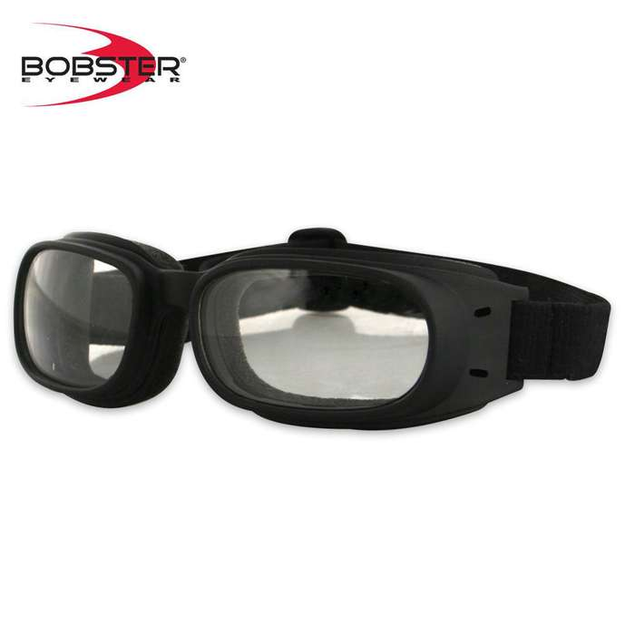 Bobster Piston Goggles Clear Lens