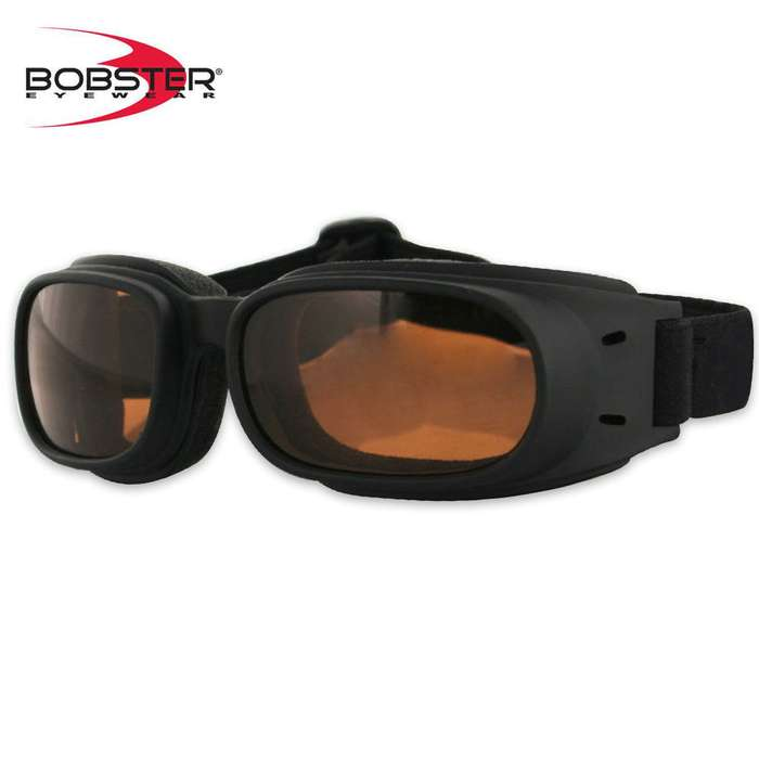 Bobster Piston Goggles Amber Lens