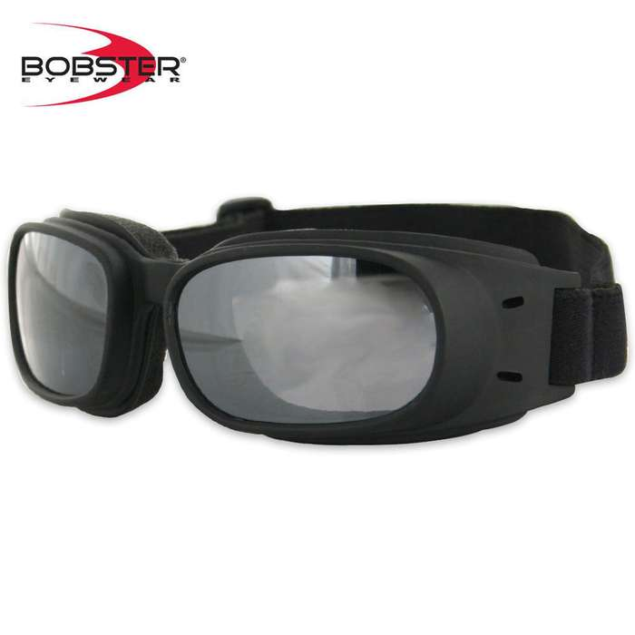 Bobster Piston Goggles Smoked Reflective Lens