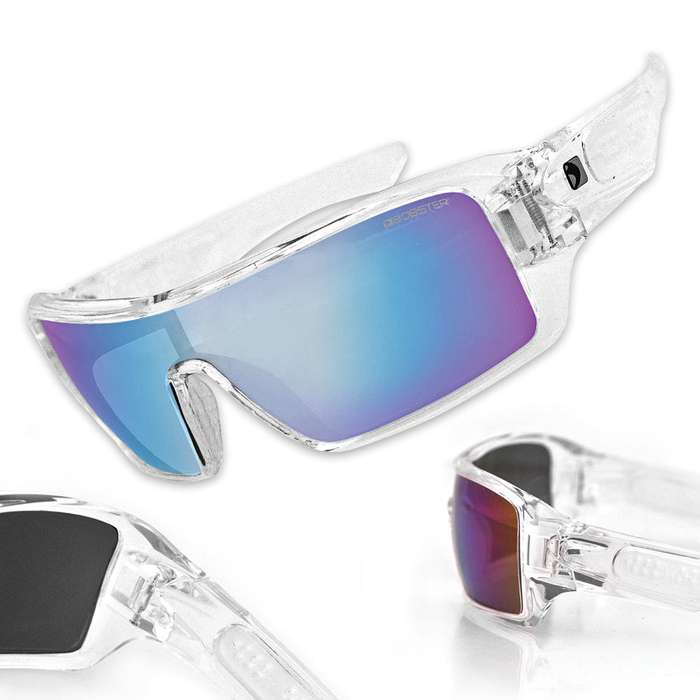 Paragon Sunglasses with Crystal Clear Frame