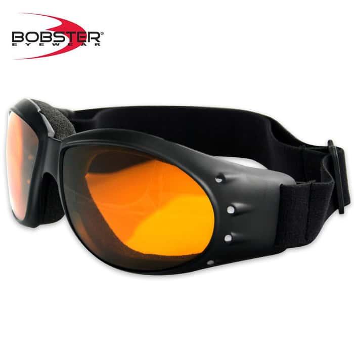 Bobster Cruiser Goggles Amber Lens