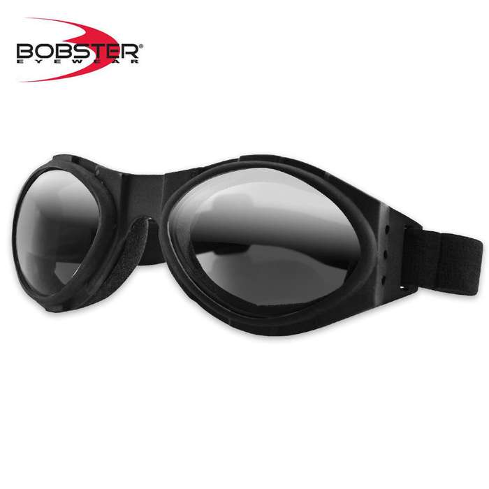 Bobster Bugeye Goggles Smoke Reflective Lens