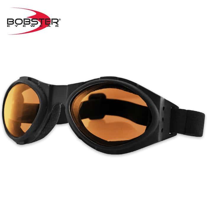 Bobster Bugeye Goggles Amber Lens