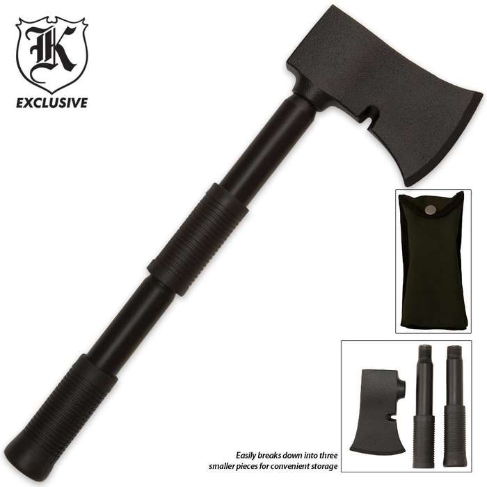 Extreme Take Apart Camp Axe and Pouch