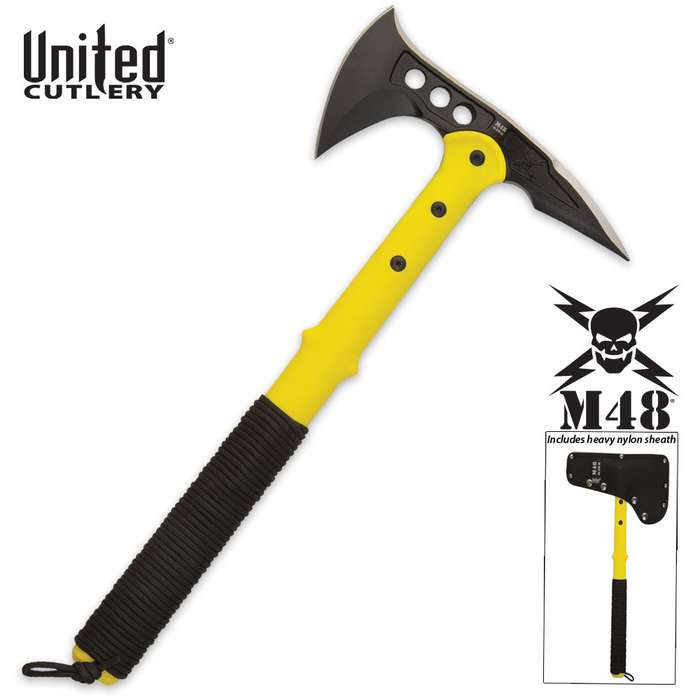 M48 Tactical Tomahawk Axe Rescue Yellow