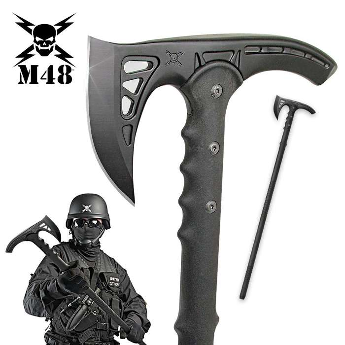 M48 Kommando Survival Axe Tactical Hiking Staff