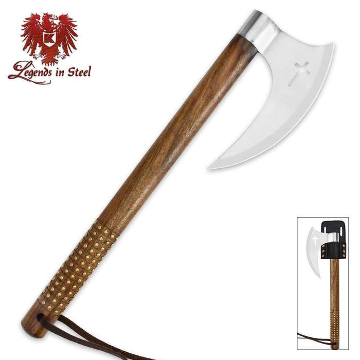 Legends In Steel Crusader Tomahawk
