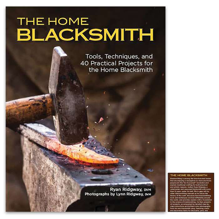 Includes instructions for 40 projects, including the tools like chisels and punches and decorative items for the home