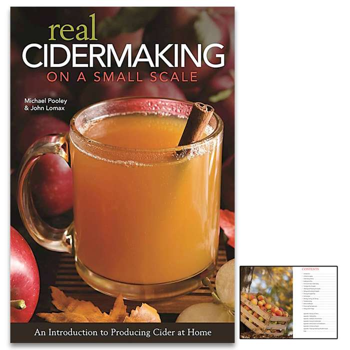 Don't miss your chance to become a cidermaking expert and enjoy the rewards of your labor all year long with the Real Cidermaking On A Small Scale book