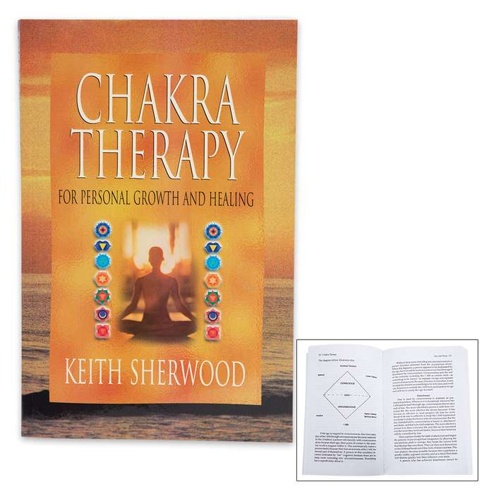Chakra Therapy For Personal Growth and Healing by Keith Sherwood