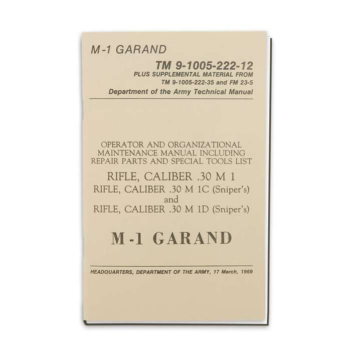 M1 Garand Manual