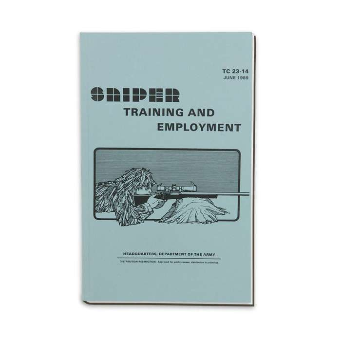 Army Sniper Training & Employment Manual