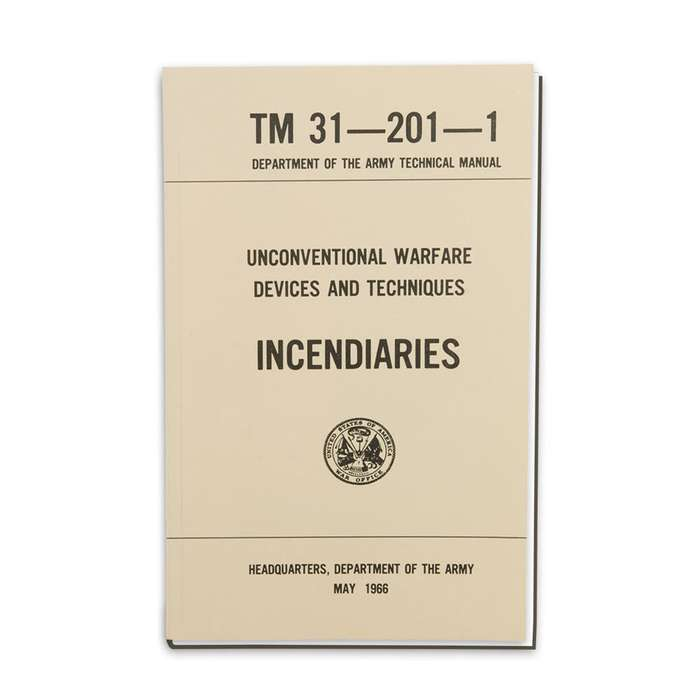 Army Technical Manual - Incendiaries