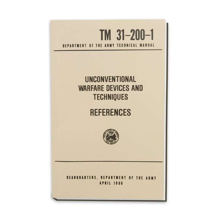 Army Technical Manual - References