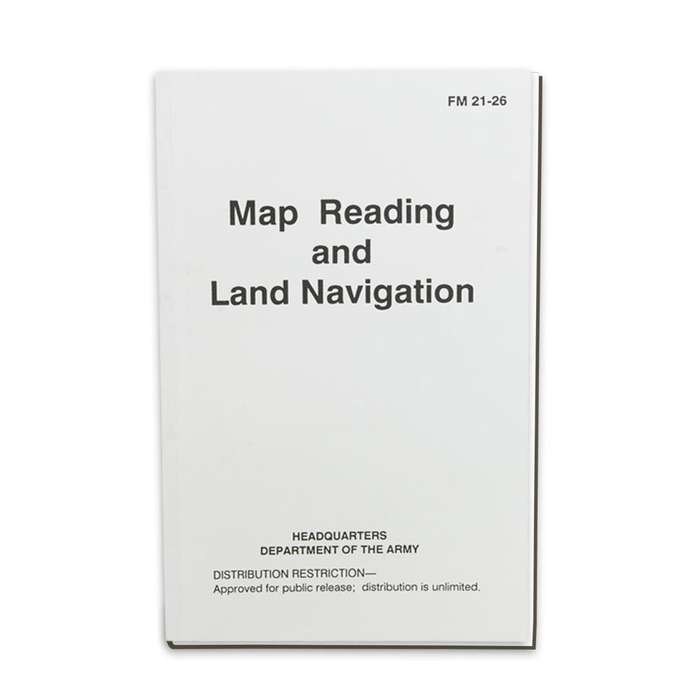 Army Field Manual - Map Reading and Land Navigation