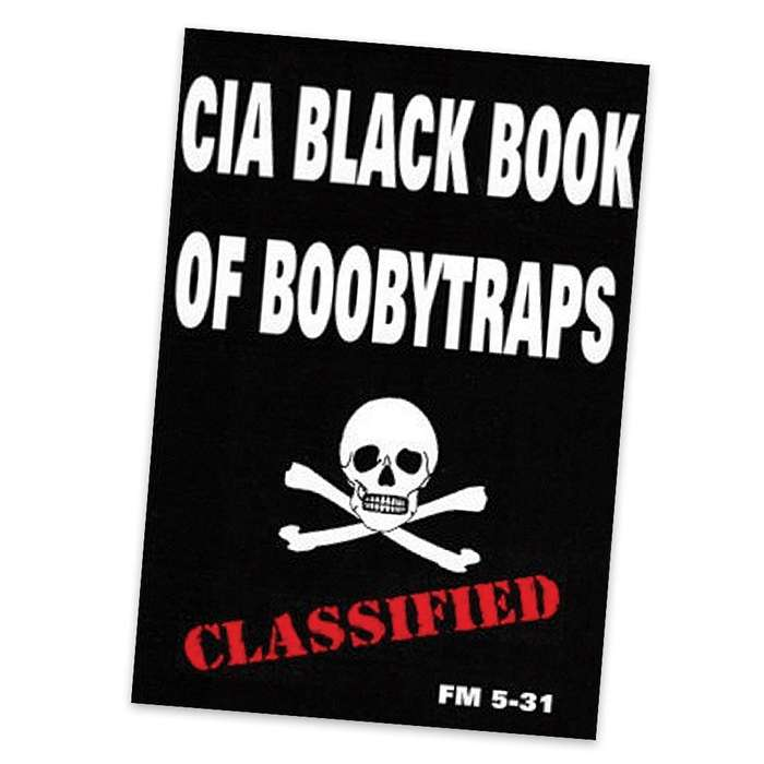 C.I.A. Black Book Of Boobytraps