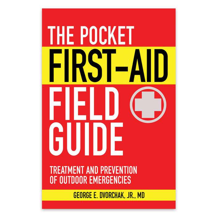 Pocket First-Aid Field Guide Book