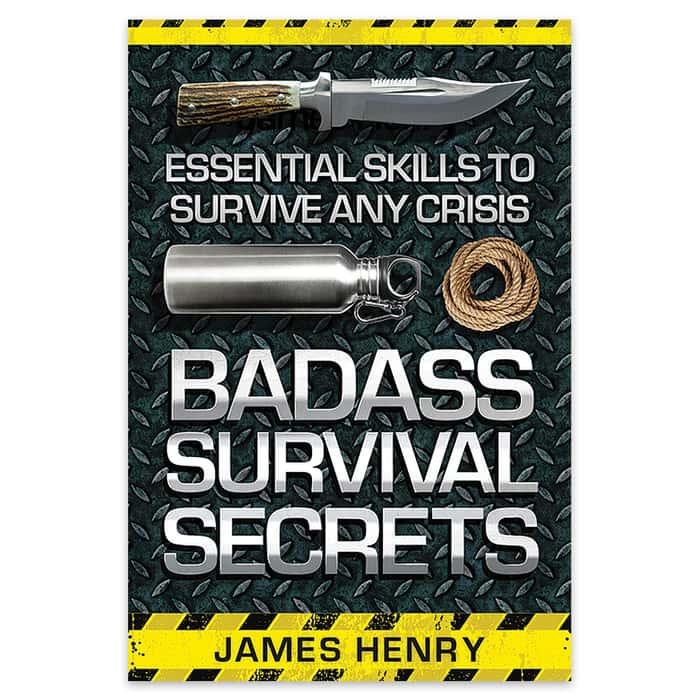 Badass Survival Secrets Book