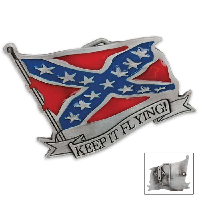 Keep It Flying Belt Buckle