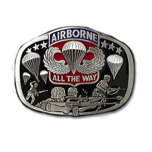 Airborne Belt Buckle