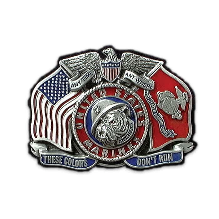 United States Marines Belt Buckle