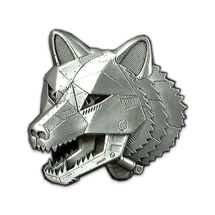 3D Wolf Belt Buckle
