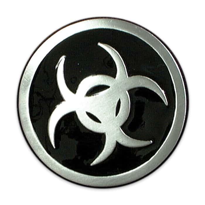 Biohazard Zombie Belt Buckle