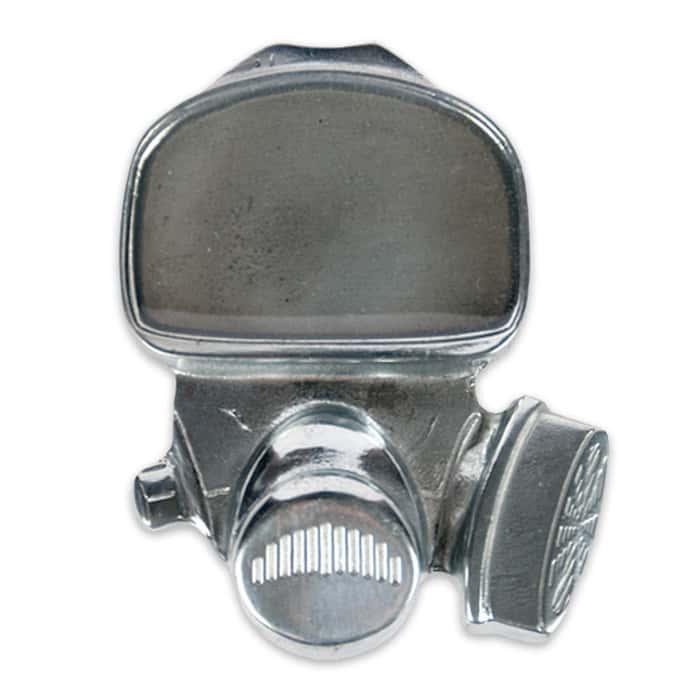 Gas Mask Belt Buckle