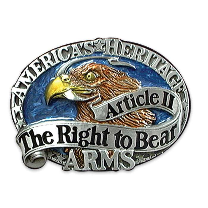 Right To Bear Arms Buckle