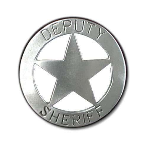 Deputy Sheriff Badge Belt Buckle