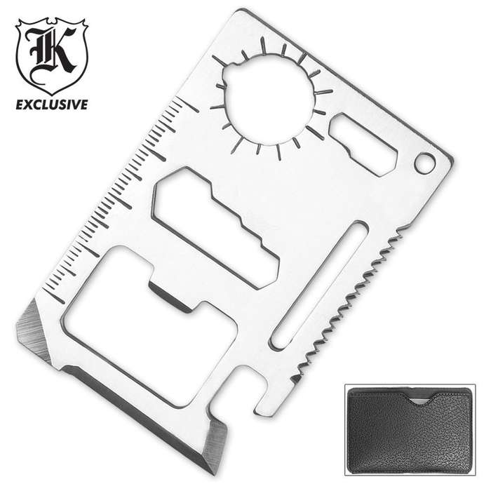 11 Function Credit Card Survival Tool