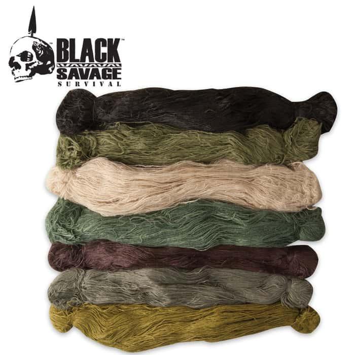 Black Savage Camo Suit Yarn